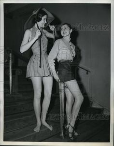 1950 Press Photo of Models in Clare McCardell and Joset Walker Fashions in NY | eBay