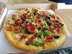 [I Ate] a delicious pizza. #food #foodporn #recipe #cooking #recipes #foodie #healthy #cook #health #yummy #delicious