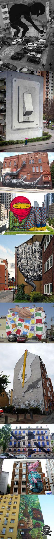 Criativas street arts para inspirar o dia a dia.