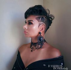 Her cut though! @lauramgovan  Read the article here - http://blackhairinformation.com/uncategorized/cut-though-lauramgovan/