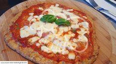 Low Carb Rezept für ein Pizza Bufalina mit Thunfischboden. Wenig Kohlenhydrate und einfach zum Nachkochen. Super für Diät/zum Abnehmen.