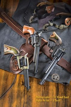 """Heritage Manufacturing Cowboy Guns -- 2013 Issue of """"Carry On"""" Magazine/Catalog published by Taurus - http://gunstockphotos.com/170723/1687867/projects/heritage-mfg-rossi-cowboy-guns-magazinecatalog:"""