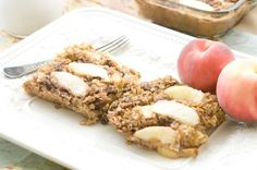 Peaceful Plate » Sweet Summer Peach and Pecan Baked Oatmeal » Peaceful Plate