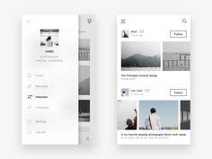 Photo social app design 4