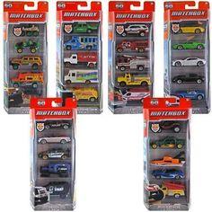 Mattel, Matchbox Cars 5-Pack Assortment