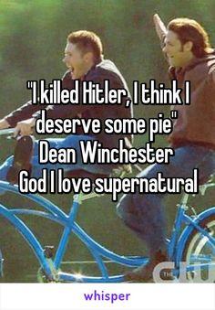 I love supernatural ♡♡♡
