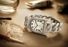 The Ultimate Gift: 18K white gold and diamond Ralph Lauren Stirrup Collection timepiece http://rlauren.co/mothersday