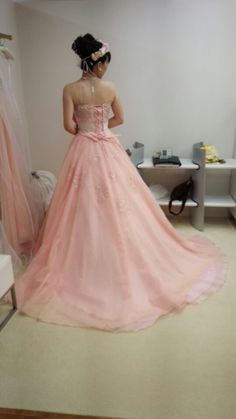 color dress back