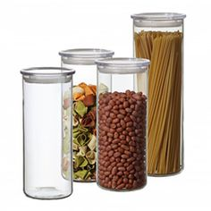Glass Storage Containers from Mighty Nest site, pasta size