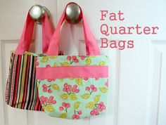 little girl purse patterns | Diary of a Quilter - a quilt blog: Fat Quarter Bag Tutorial