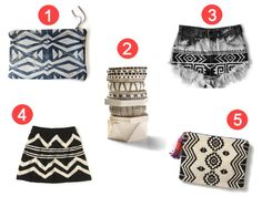 DIY geometric clutch purse inspiration