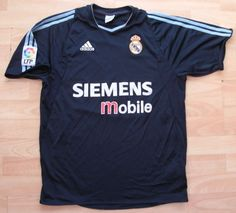 Real #madrid 2003 away #adidas football soccer  shirt jersey top #medium adult,  View more on the LINK: http://www.zeppy.io/product/gb/2/332068774512/