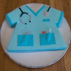 Schokoladenkuchen für eine Krankenschwester