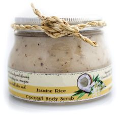 Perfect #gift for #MothersDay. Jasmine rice body #scrub (+soap), $20. Sweet floral scent with finely ground jasmine rice rich in Vitamin B. savegreennow.com, http://facebook.com/SaveGreenNow