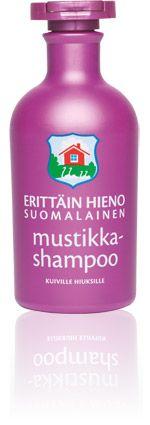 Special and fine Finnish blueberry shampoo - Erittäin Hieno Suomalainen Mustikkashampoo