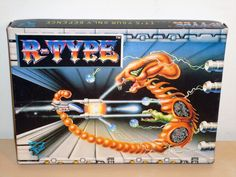 R-TYPE Amstrad CPC 464 cassette big box ELECTRIC DREAMS IREM ACTIVISION