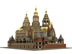 The proposed Church in Honour of Our Reigning Lady of Sorrows would be built on the site of Lenin's Mausoleum on Red Square
