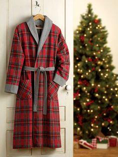 Double Comfort Portuguese Flannel Robe For Men