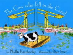 """""""The Cow Who Fell in the Canal"""", Phyllis Krasilovsky #3 #paper"""