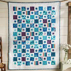 City Square Quilt (original American Quilt)mit Anleitung