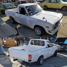 No automatic alt text available. Datsun Car, Datsun 240z, Pick Up Nissan, Chevy Luv, Nissan Sunny, Nissan Trucks, Mini Trucks, Diesel Trucks, Old Cars