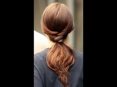 Super Easy Braided Ponytail