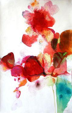 Meredith Pardue ~ Neptunia II, 2011 (ink, oil)