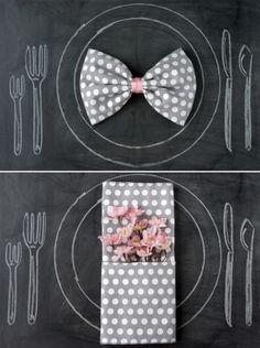 napkin folding ideas by MitchP