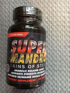 Super Mandro by Hard Rock Supplements New Sealed