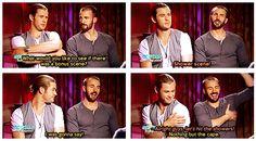 Marvel: The Avengers - Thor - Chris Hemsworth and Captain America - Chris Evans
