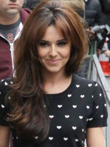 Cheryl Cole works sexy 60s hair in London - now