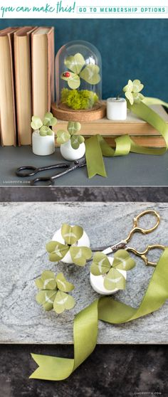 Lucky Clovers  These adorable potted paper clovers are super simple to make. Hide them around the house for a fun game for your little leprechauns; whoever finds the 4 leaf clover wins a prize! https://liagriffith.com/lucky-paper-clover/ ‎ * * * #clover #fourleafclover #fourleafclovers #stpatricksday #green #houseplant #houseplants #stpatricksday2018 #diy #diycraft #diycrafts #diyproject #diyprojects #diyhome #diyholiday #diydecor #holiday #diyhomedecor #leprechaun #luck #lucky #goodluck #go