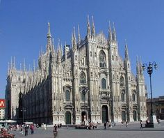 Cathedral of Milan, Piazza del Duomo, Italy...Best shopping in Milano!