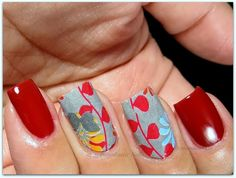 Full Nail Water Decals from kkcenterhk & Barielle Dinner at 8
