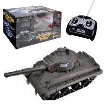 Боевой танк 9343 р/у, на аккумуляторных батарейках, з/у, с пульками, в коробке