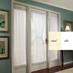french door - use as entryway to dining room from parlor
