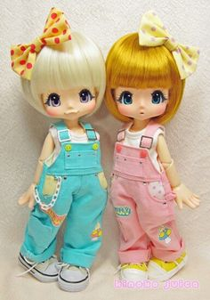 Kinoko juice kiki jointed dolls! <3