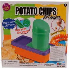 Cooking Fun Other Food Preparation & Tools Home, Furniture & DIY Potato Chip Maker, Potato Chips, Food Preparation, Chopper, Make It Simple, Crisp, Potatoes, Shapes