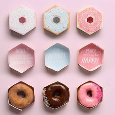 Individual Donut Boxes