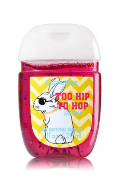Too Hip to Hop - PocketBac Sanitizing Hand Gel - Bath & Body Works - Now with more happy! Our NEW PocketBac is perfectly shaped for pockets & purses, making it easy to kill 99.9% of germs when you're on-the-go! New, skin-softening formula conditions with Aloe & Vitamin E to leave your hands feeling soft and clean.