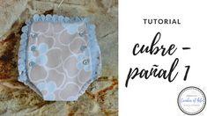 Hoy vamos a hacer un cubre-pañal de talla 0-3 meses que es una forma fácil y sencilla de tener a los bebés bien guap@s en sus primeros días de vida