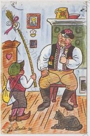 - Josef Lada, Velikonoce Children's Book Illustration, Childrens Books, The Past, Baseball Cards, Czech Republic, Joseph, Artist, Poster, Painting
