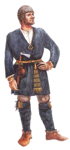 An interesting article in the Latgallian dialect of Latvian about how important the belt was to the ancient Latvian costume.  Here--an illustration of a 10th century costume.  More pictures in the article of archaeological finds and recreations of ancient belts.