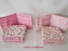 Mia's Creations: Seventeen Wallets, Seven Fabric Baskets And A Puppy
