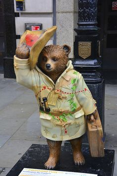 Paddington Bear Trail, Paddington The Explorer By Ripley's Believe It Or Not | Flickr - Photo Sharing!