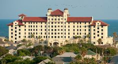 The Hotel Galvez is our favorite hotel in Texas, gorgeous inside and out, right on the Gulf.