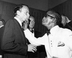 Frank Sinatra and Sammy Davis Jr.