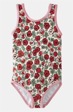 Mini Boden One Piece Swimsuit (Toddler)