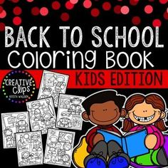 Coloring books Back to school and Coloring on Pinterest