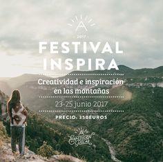 PRECIO INSPIRAEl Festival Inspira 2017 tendrá lugar en Siurana de Prades el 23, 24 y 25 de junio de 2017